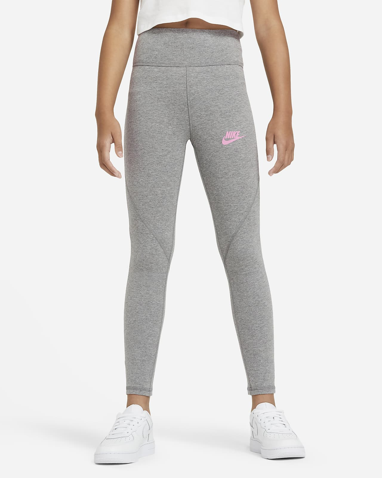Nike Sportswear Favorites Big Kids' (Girls') High-Waisted Leggings