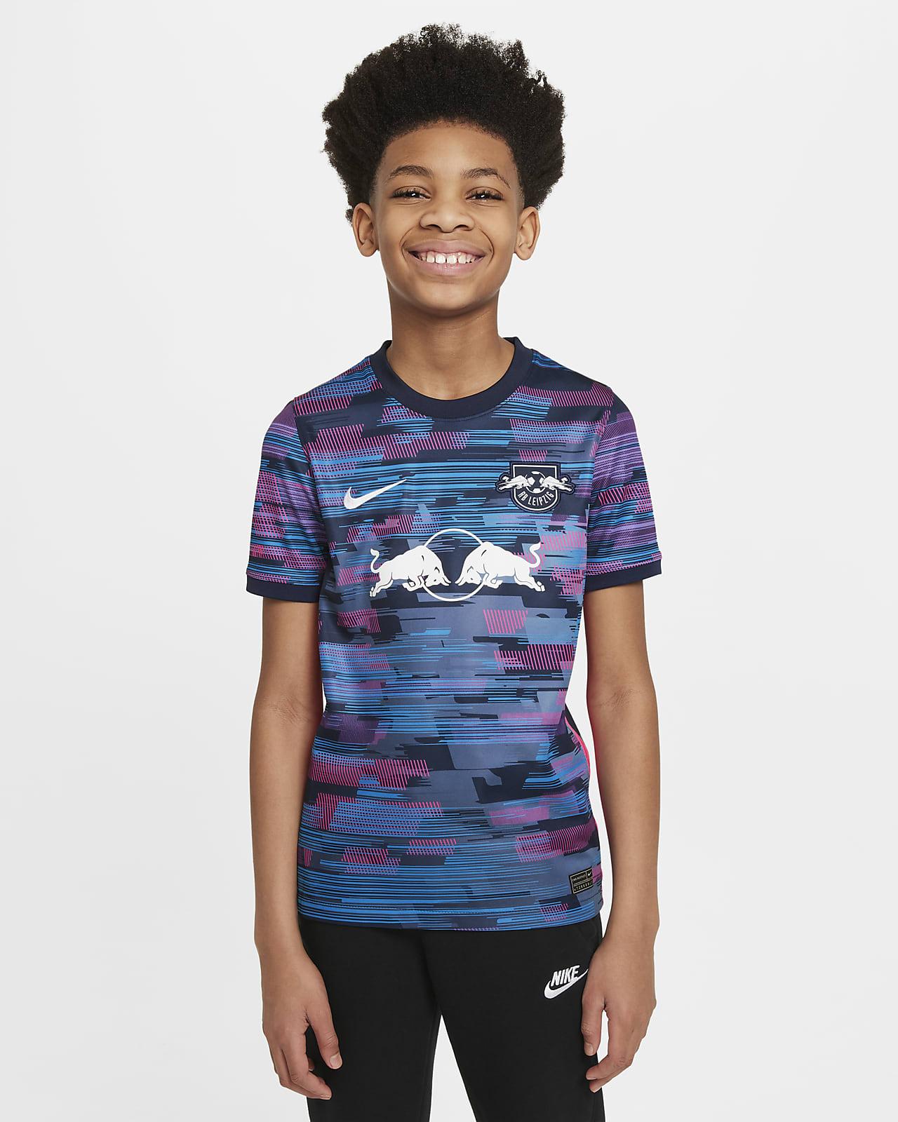 RB Leipzig 2021/22 Stadium Third Older Kids' Nike Dri-FIT Football Shirt