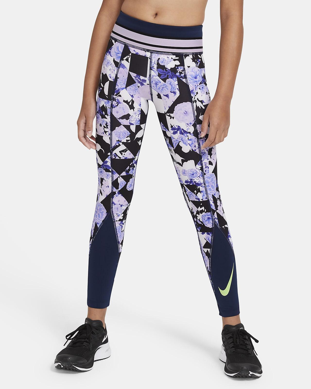 Legginsy treningowe dla dużych dzieci (dziewcząt) Nike One
