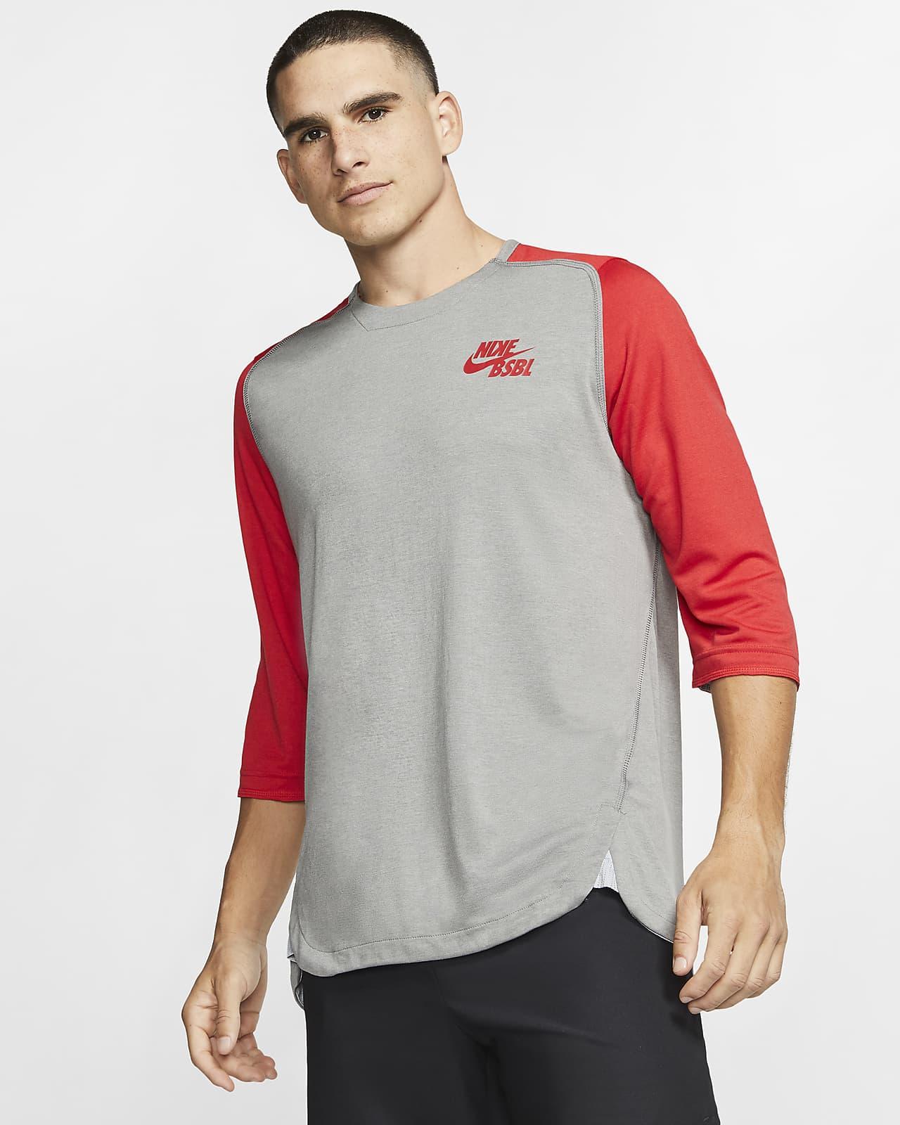 Mejora precoz Funeral  Nike Men's 3/4-Sleeve Baseball Top. Nike.com