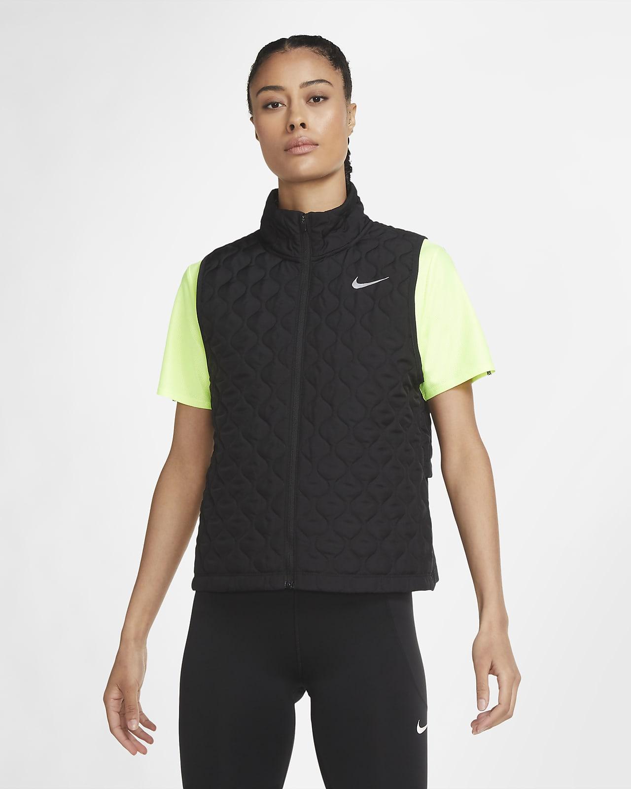 Chaleco de running para mujer Nike AeroLayer