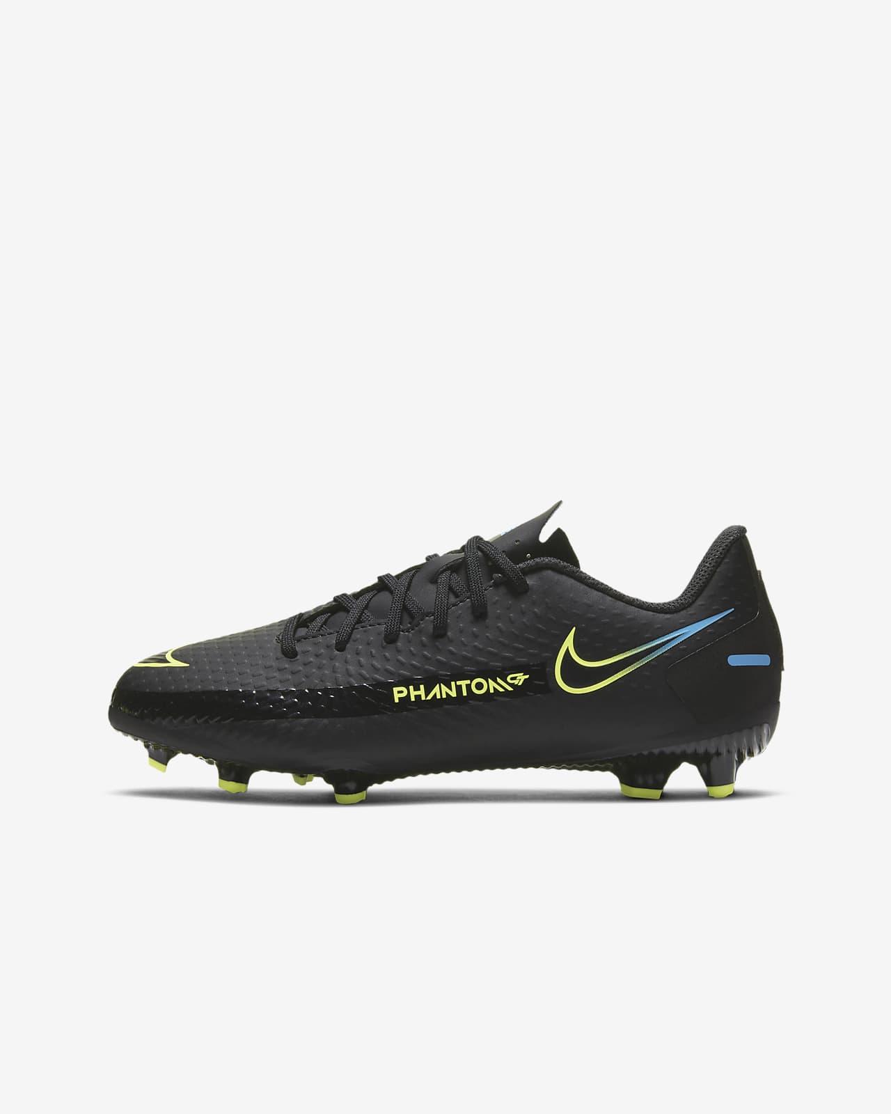 Nike Jr. Phantom GT Academy MG Fußballschuh für verschiedene Böden für jüngere/ältere Kinder