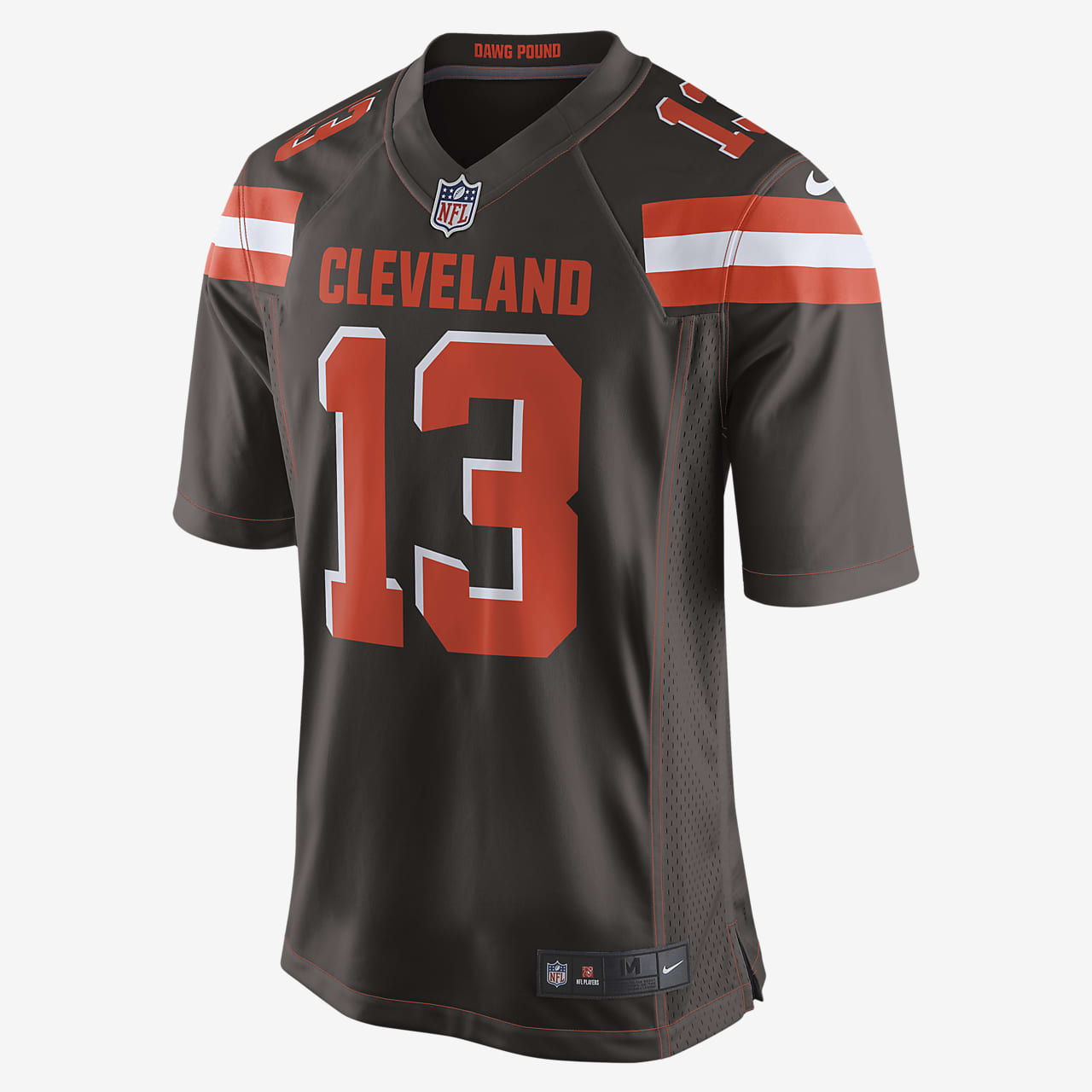 NFL Cleveland Browns (Odell Beckham Jr.) Men's Game American Football Jersey