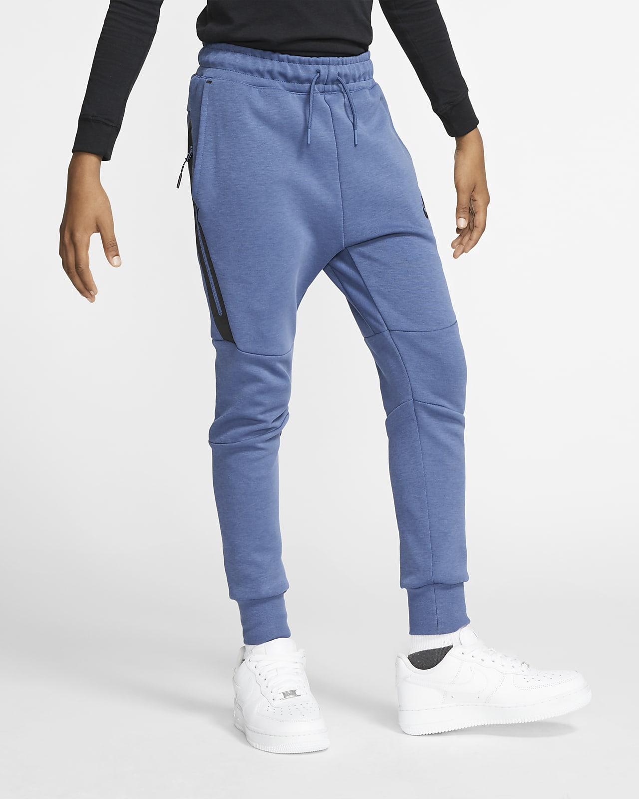 Nike Sportswear tech fleecebukse til store barn