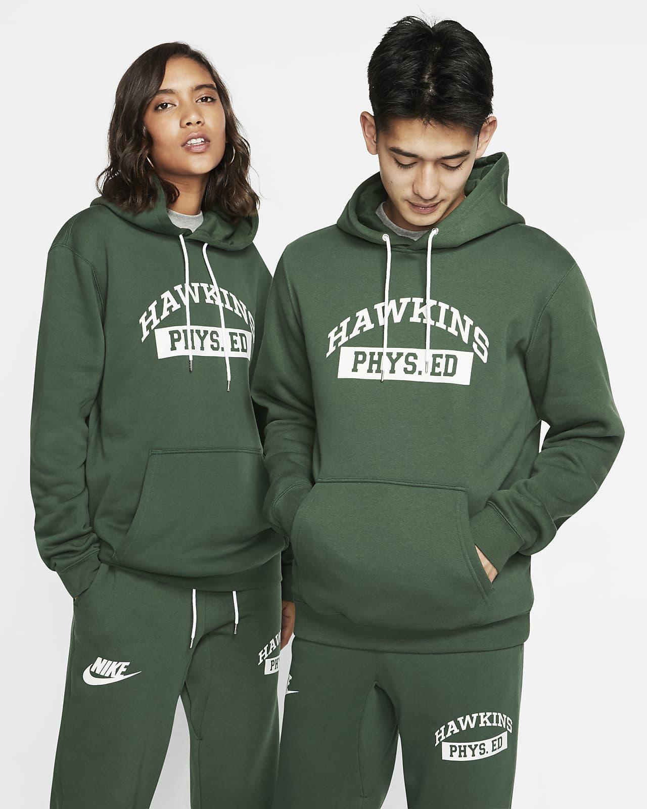 เสื้อคลับมีฮู้ดผู้ชาย Nike x Stranger Things