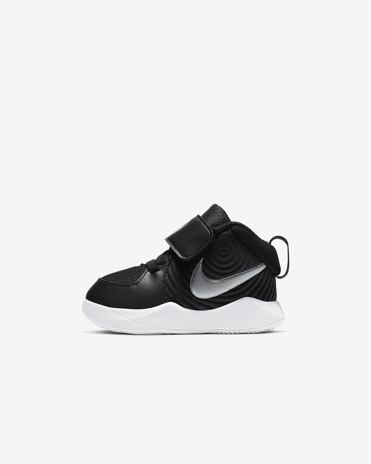 Nike Team Hustle D 9 Baby & Toddler Shoe