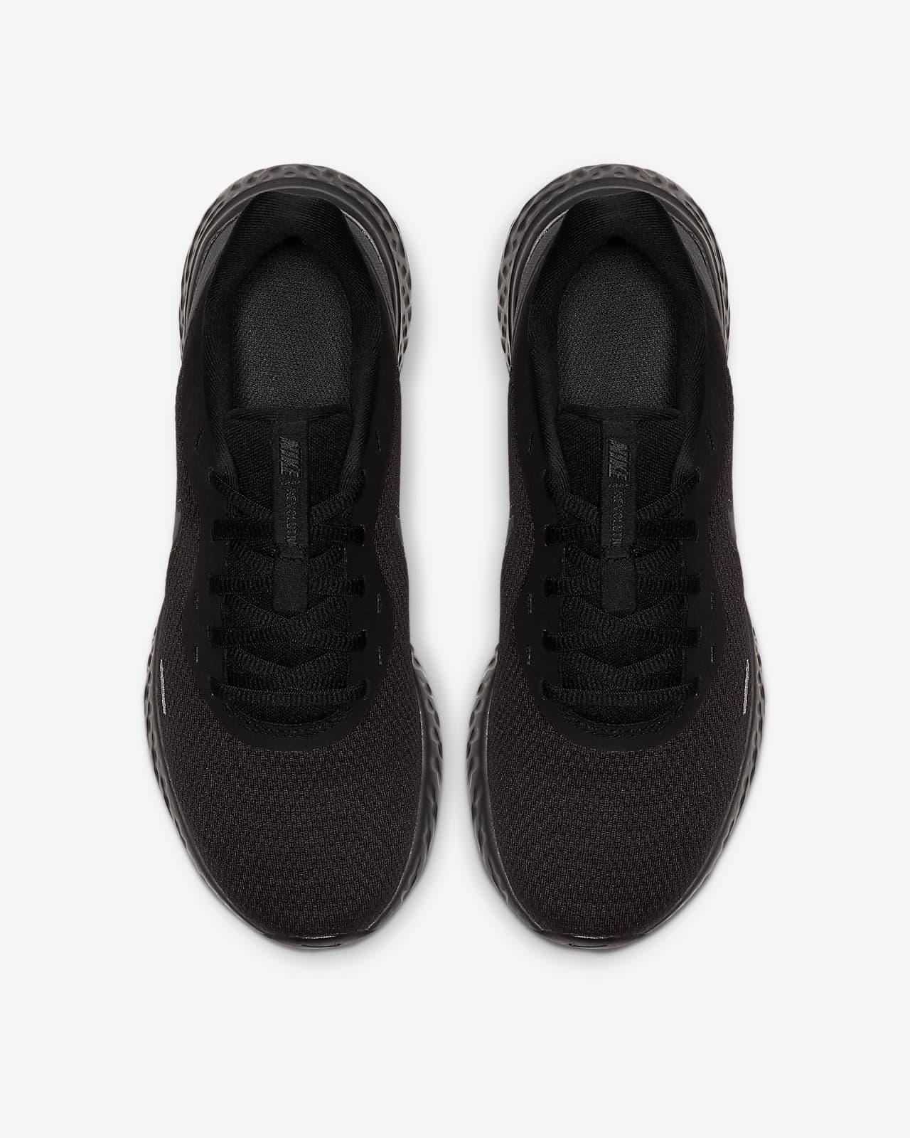 zapatillas nike mujer negras revolution