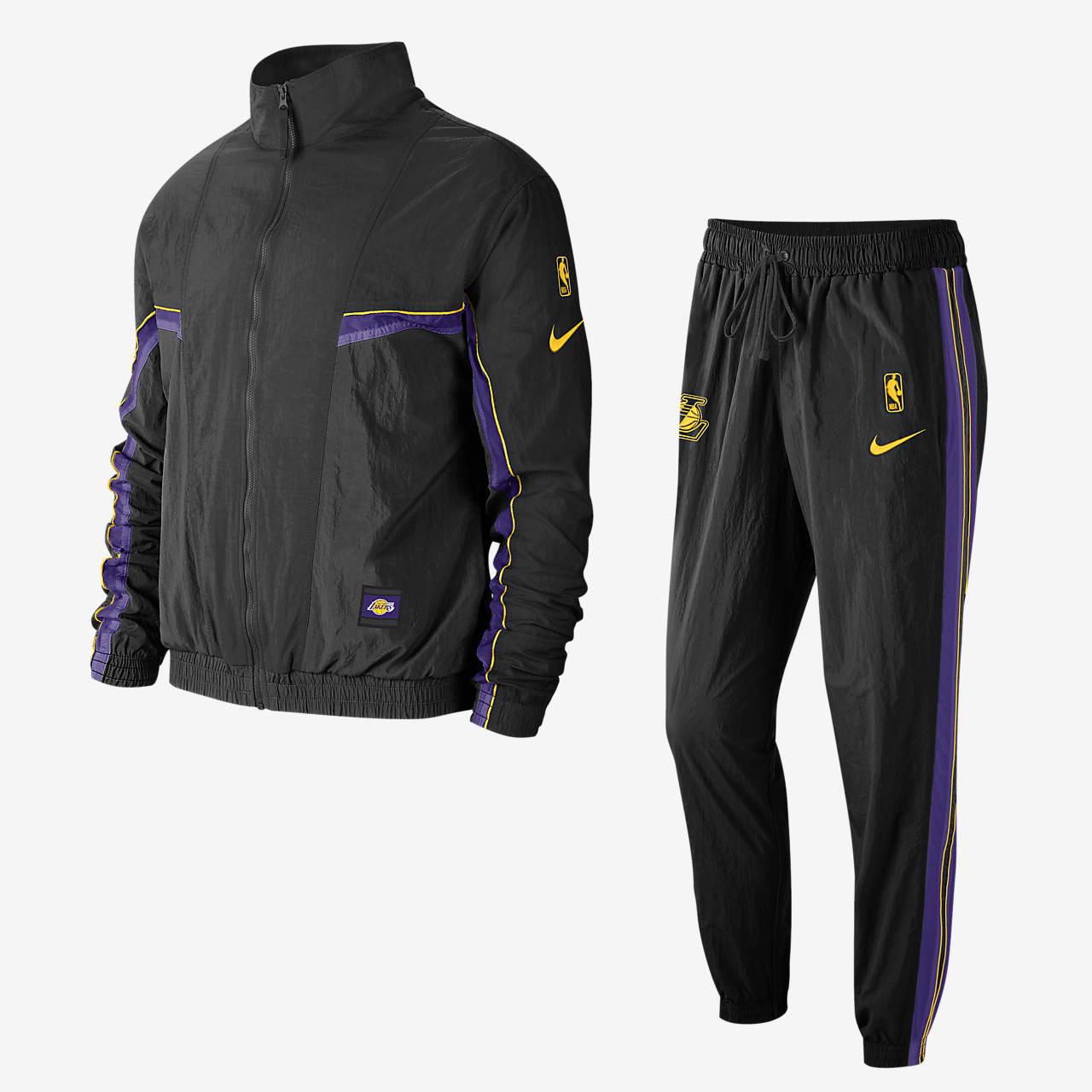 Los Angeles Lakers Courtside Men's Nike NBA Tracksuit