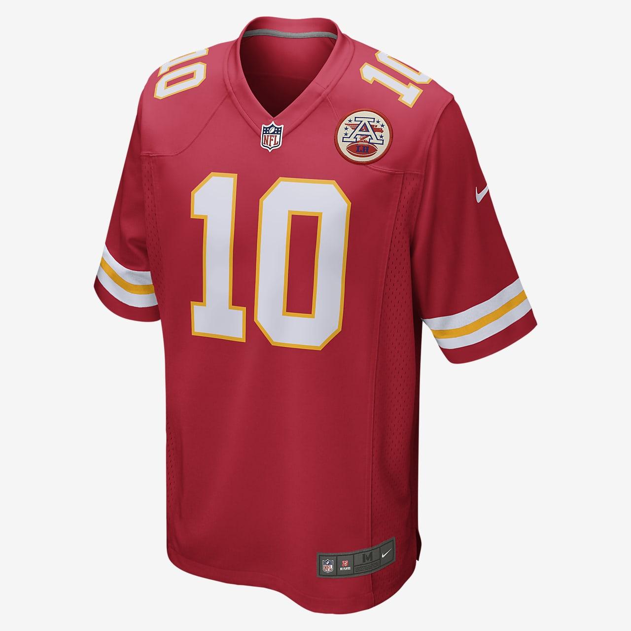 NFL Kansas City Chiefs (Tyreek Hill) Men's Game Football Jersey
