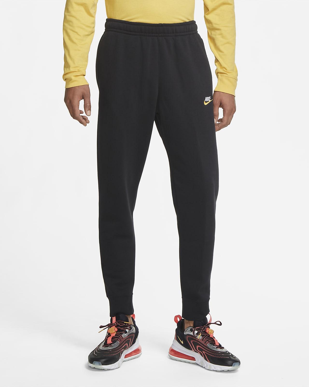 Calças de jogging de lã cardada Nike Sportswear Club