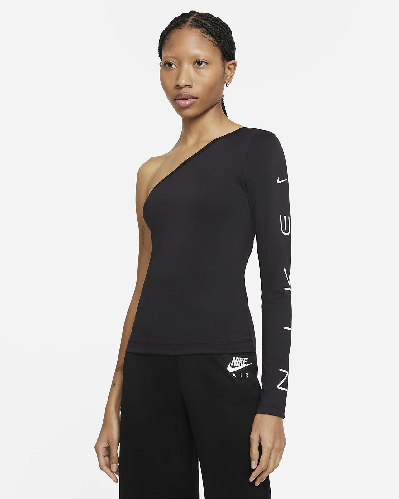 Nike Sportswear Women's Asymmetrical Long-Sleeve Top