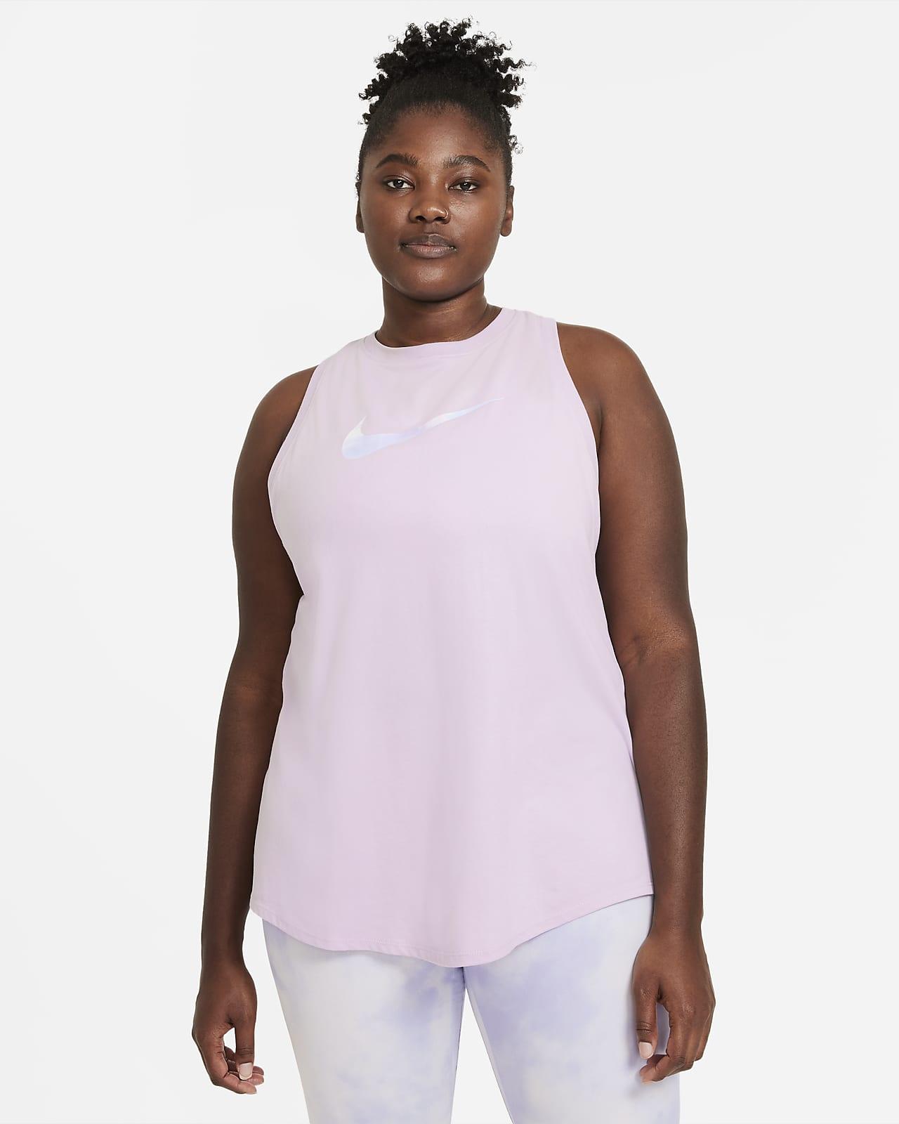 เสื้อกล้ามเทรนนิ่ง Icon Clash ผู้หญิง Nike Dri-FIT (พลัสไซส์)