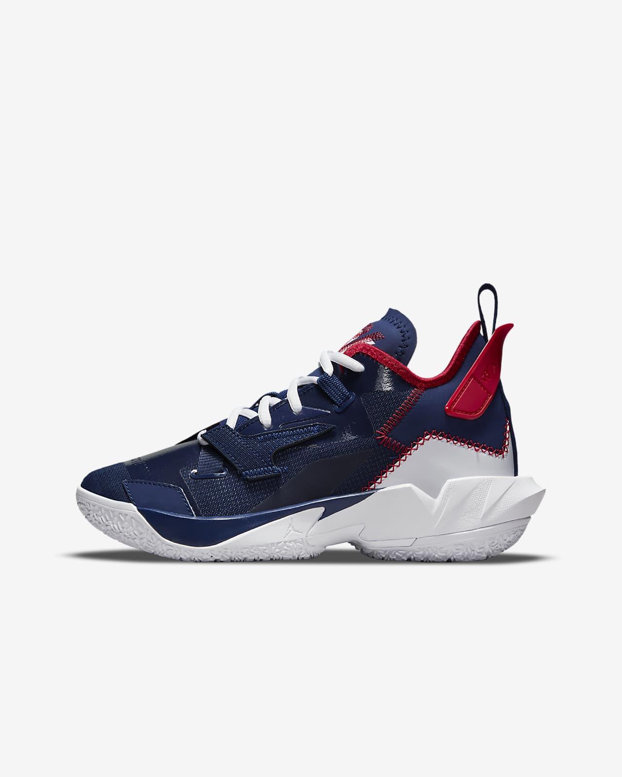 Jordan 'Why Not?' Zer0.4 Older Kids' Basketball Shoe