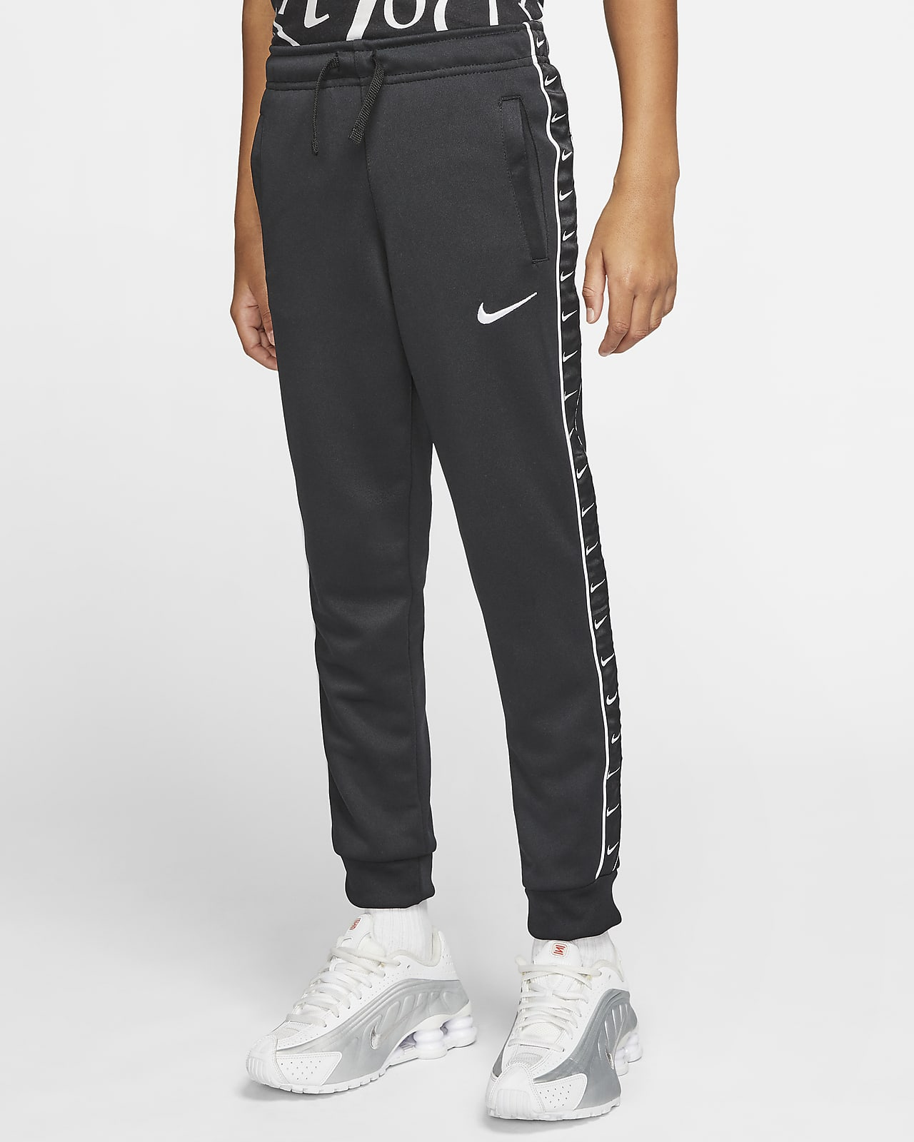 Nike Sportswear Swoosh-joggingbukser til store børn