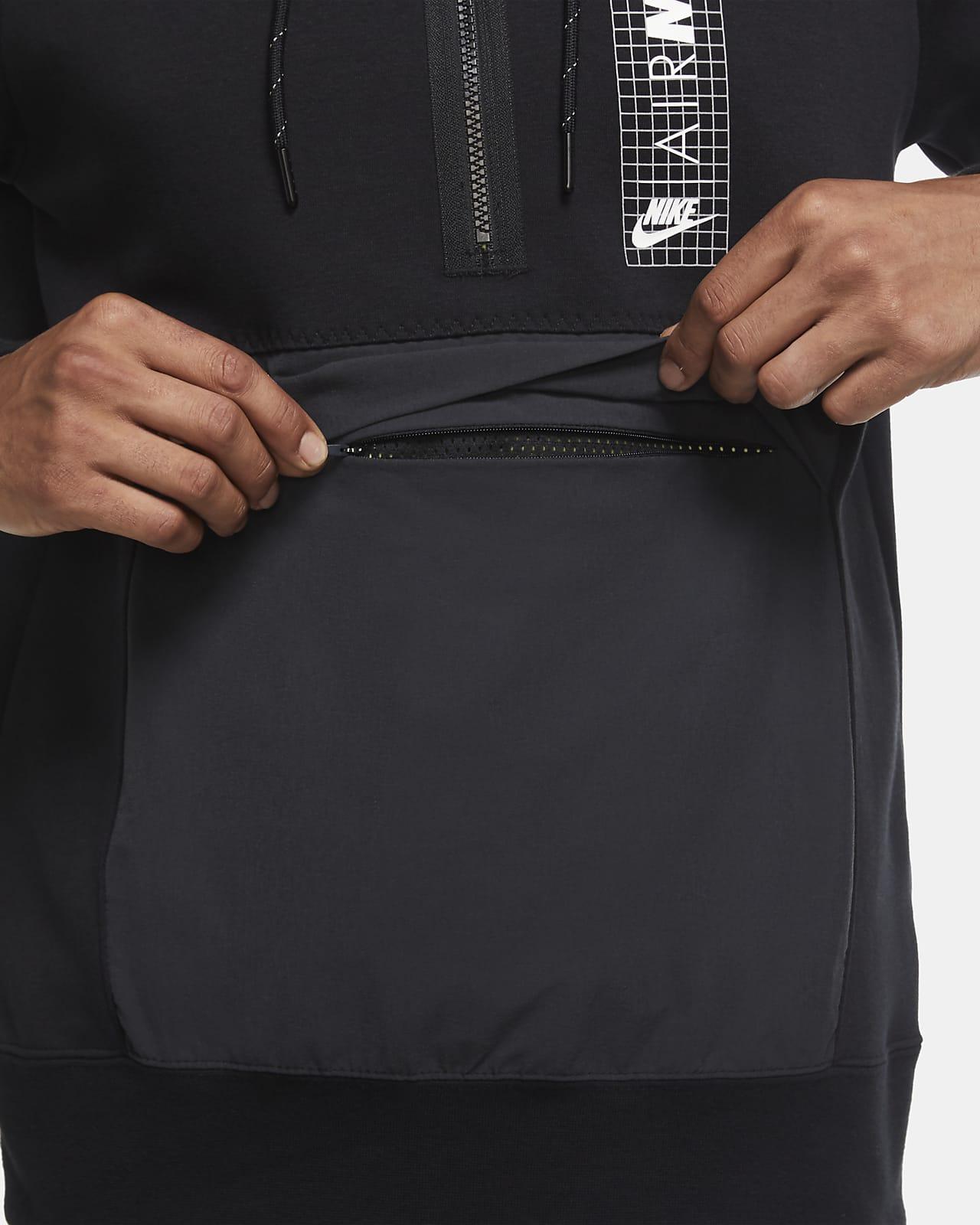 pagar Derecho Cayo  Nike Air Max Camiseta de tejido Fleece con media cremallera - Hombre. Nike  ES