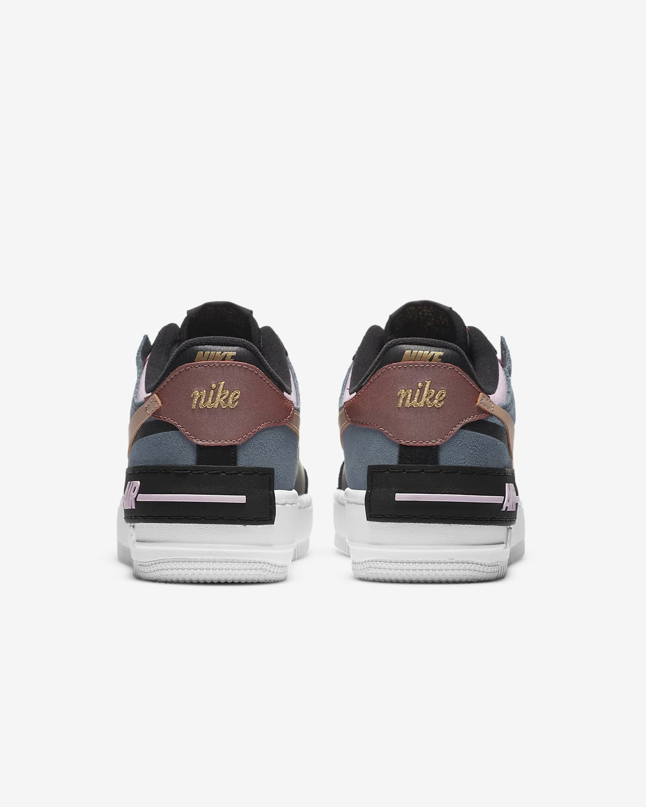 Nike Air Force 1 Shadow Women S Shoe Nike Id This nike air force 1 low comes with sail tumbled leather across the upper while a shiny leather in orange lands on the panels. nike air force 1 shadow women s shoe