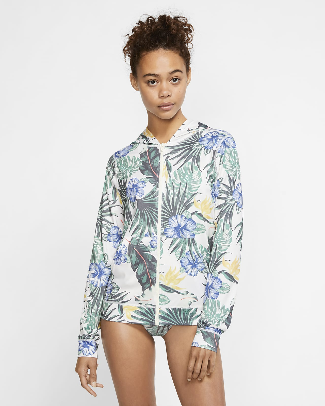 Hurley One And Only Lanai Women's Hooded Rashguard