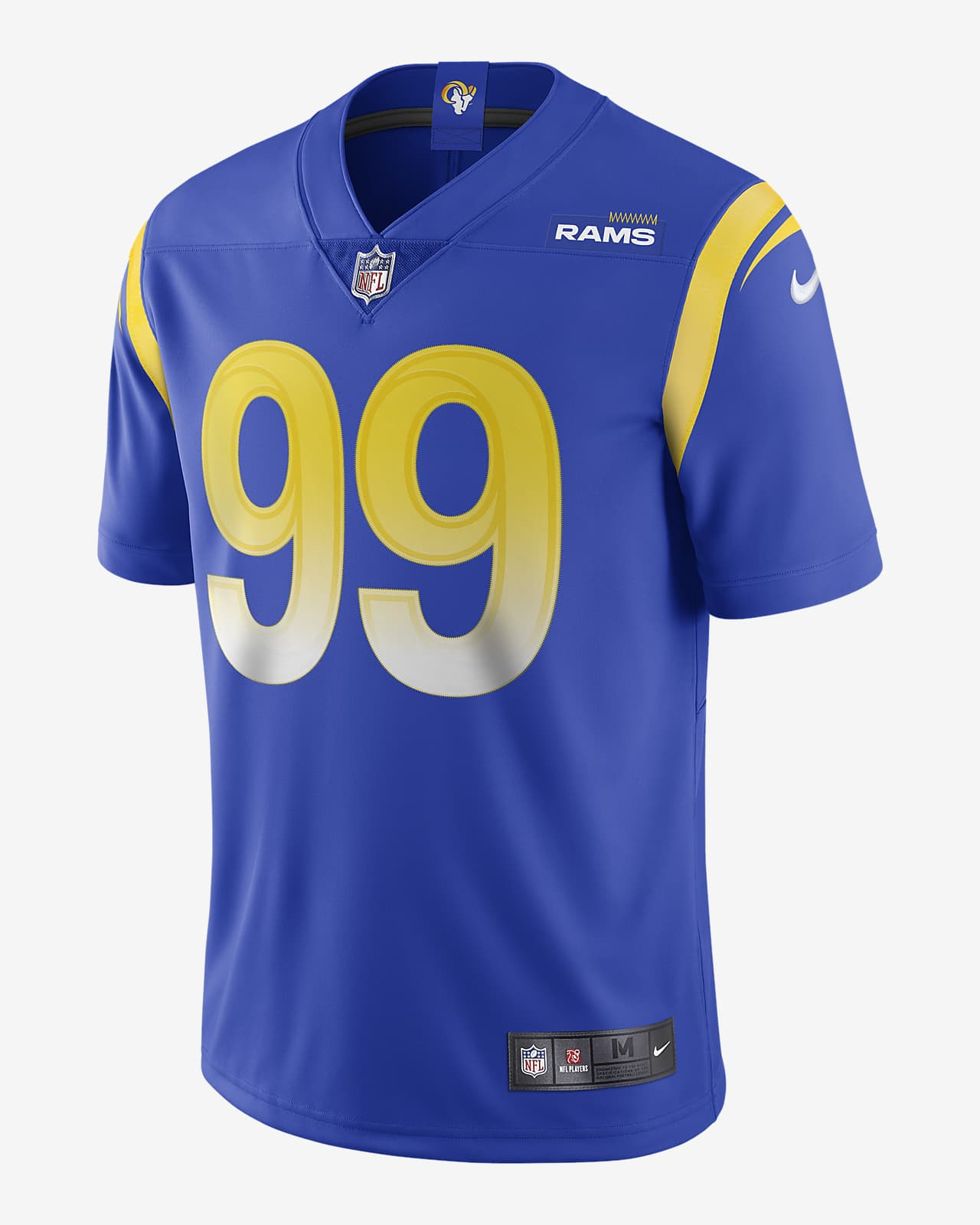 NFL Los Angeles Rams Vapor Untouchable (Aaron Donald) Men's Limited Football Jersey