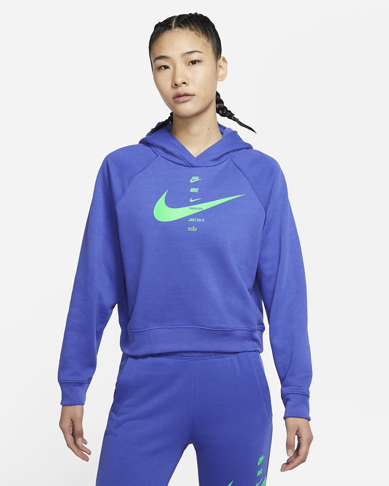 Nike Sportswear Swoosh 女子连帽衫