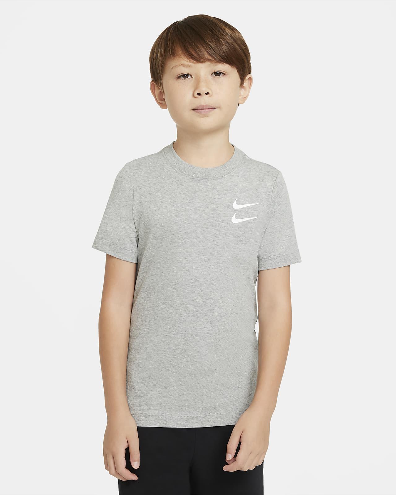 Nike Sportswear-T-shirt til store børn (drenge)