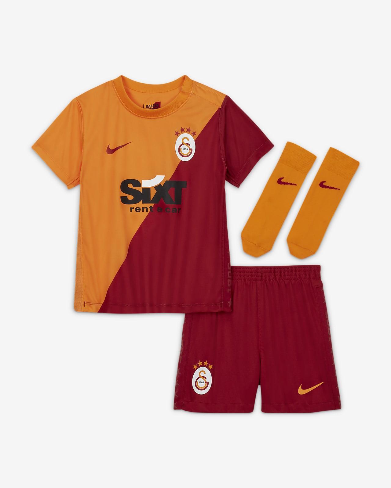 Divisa da calcio Galatasaray 2021/22 per neonati/bimbi piccoli - Home