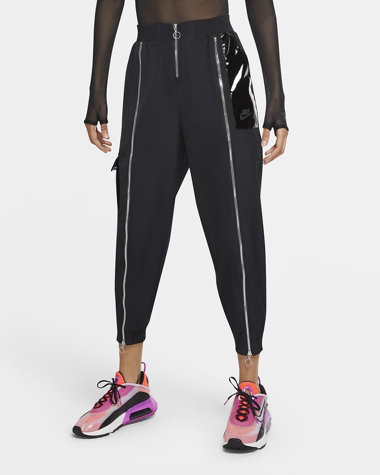 Byxor i vävt material Nike Sportswear Icon Clash för kvinnor