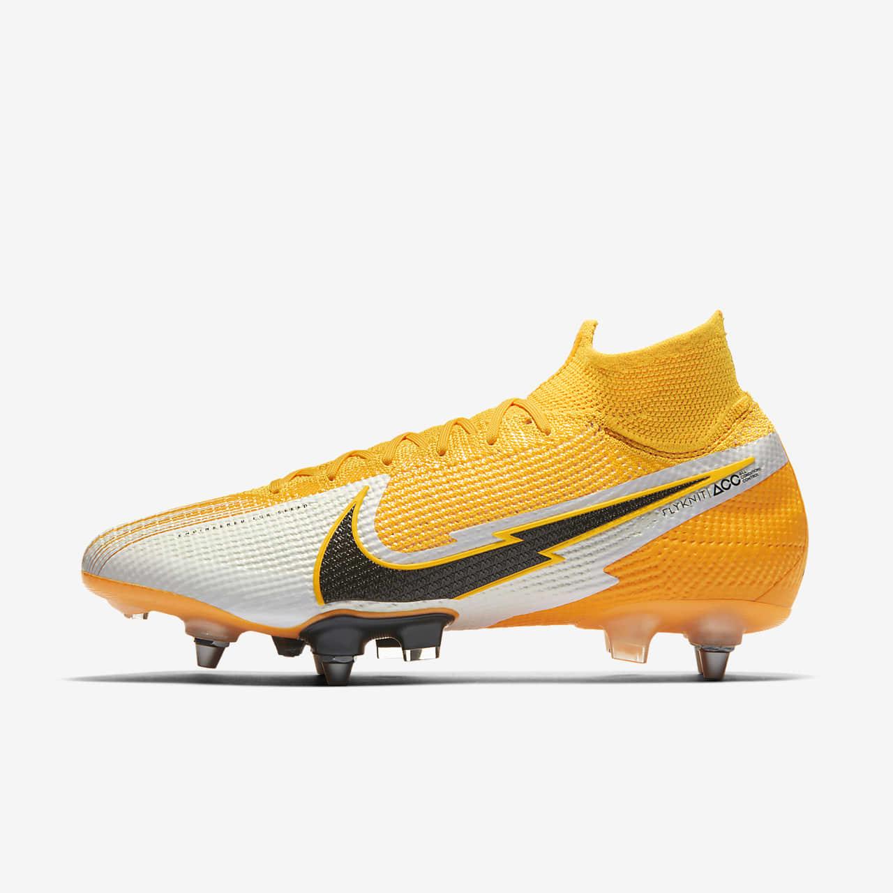 Chaussure de football à crampons pour terrain gras Nike Mercurial Superfly  7 Elite SG-PRO