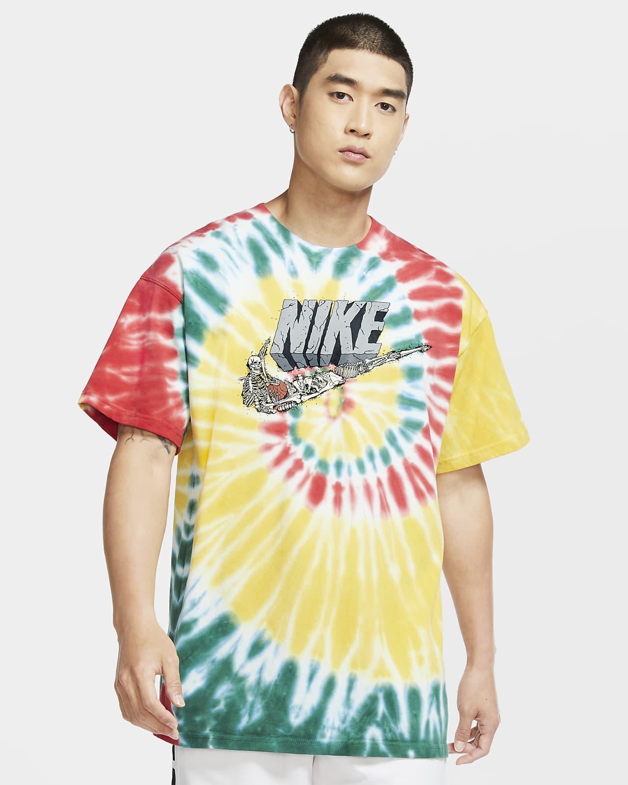 T-shirt de basquetebol Nike Exploration Series para homem