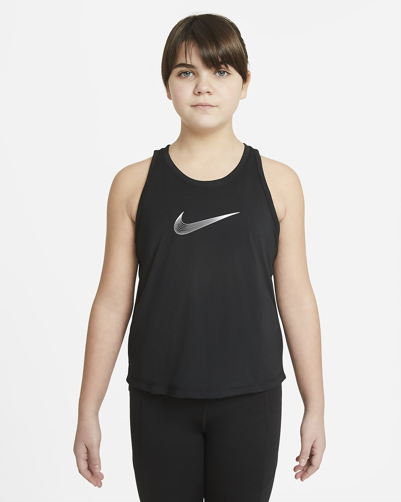 Nike Dri-FIT Trophy Trainings-Tanktop für ältere Kinder (Mädchen) (große Größe)