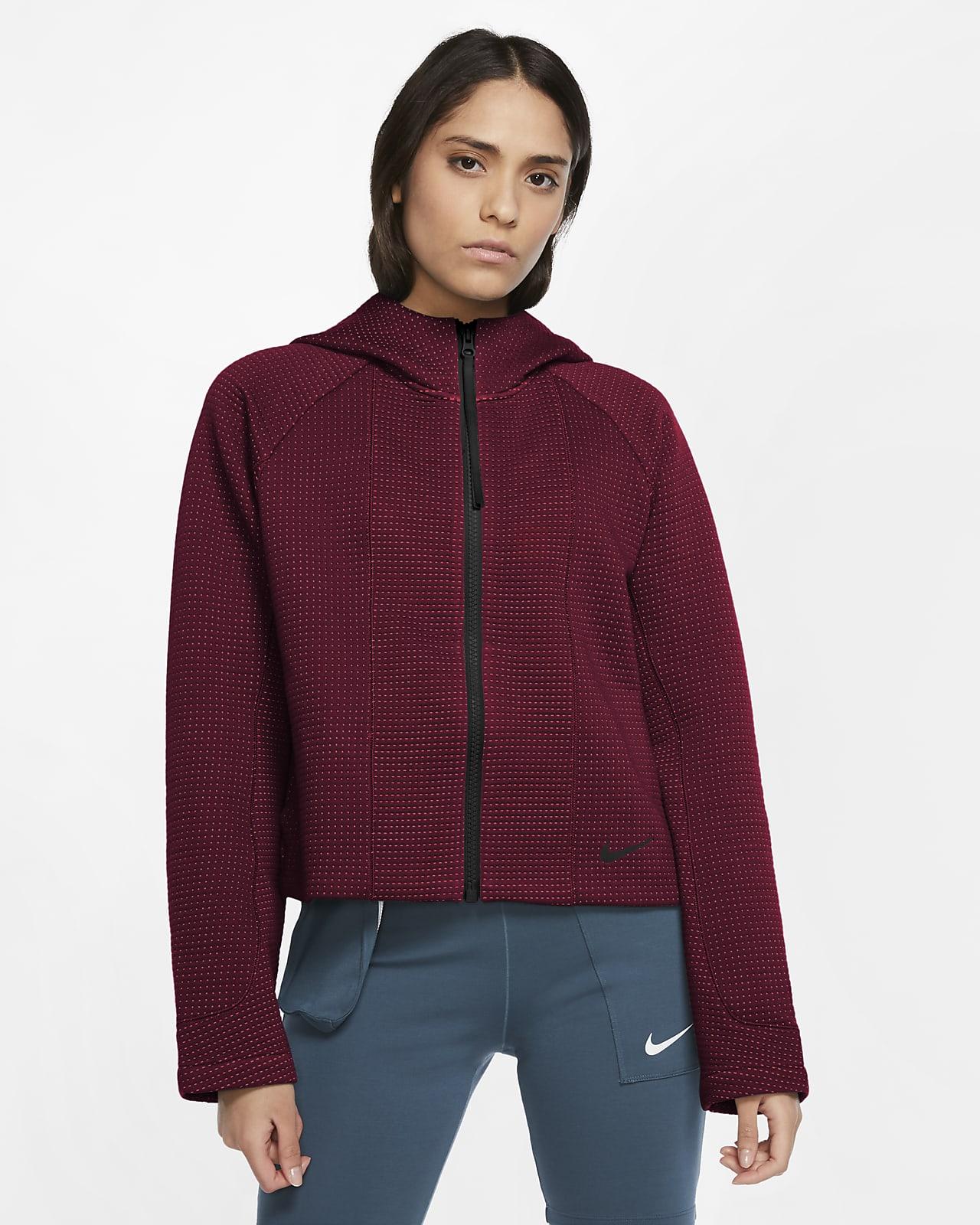 Dámská funkční mikina Nike Sportswear Tech Fleece s kapucí a zipem po celé délce