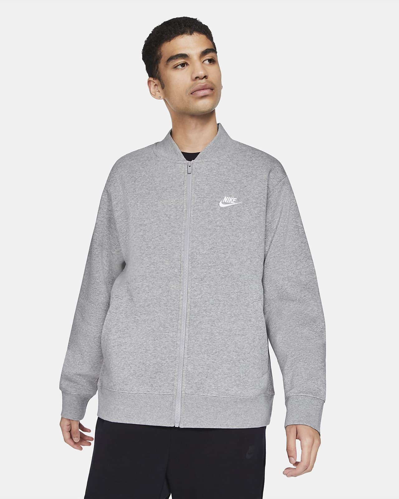 Veste aviateur Nike Sportswear Club Fleece pour Homme