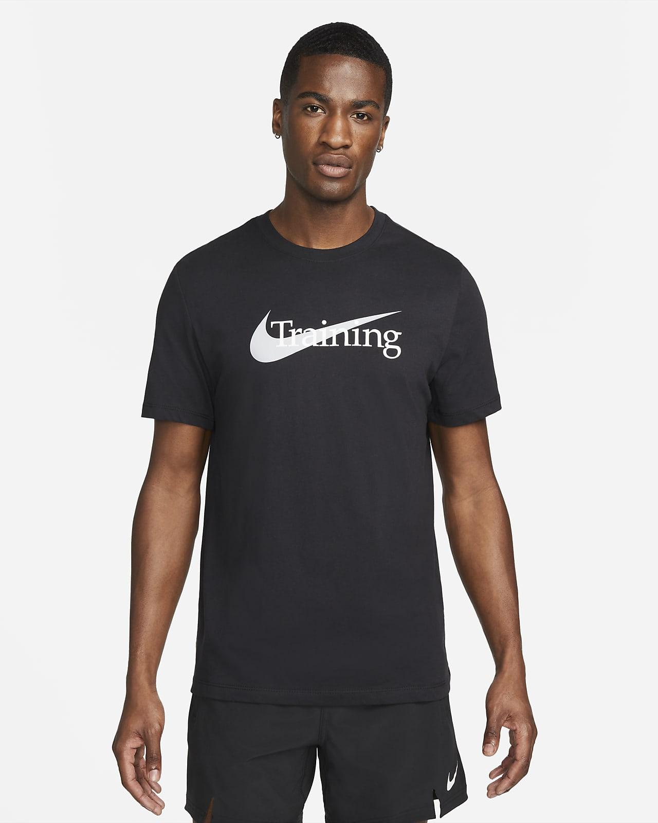 Nike Dri FIT trenings T skjorte med Swoosh til herre. Nike NO