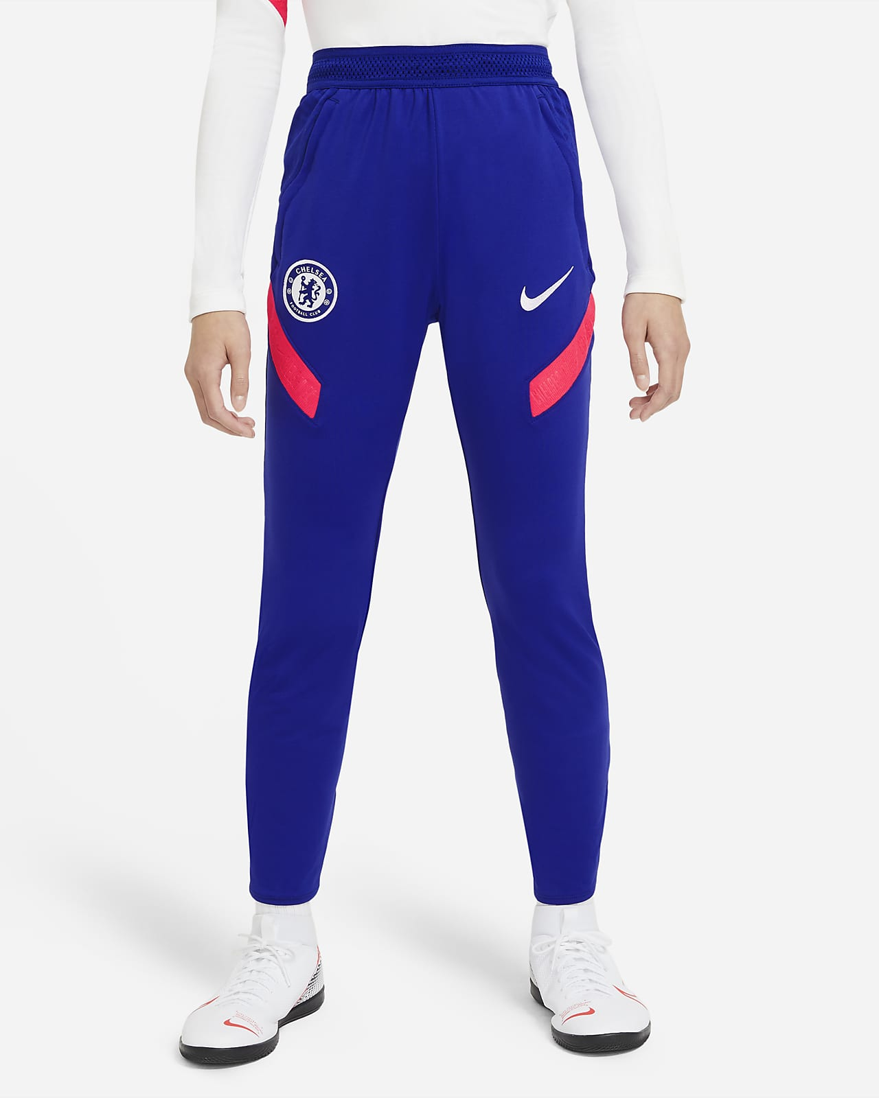 Pantalon de football en maille Chelsea FC Strike pour Homme