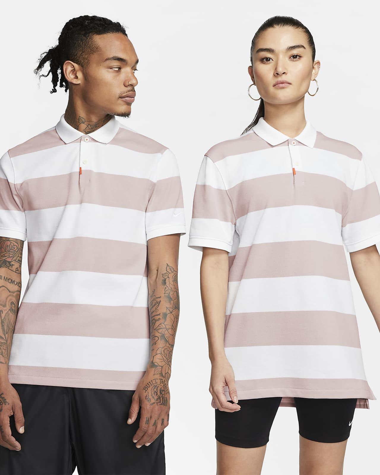 Nike Polo-unisex polo med slank pasform og striber