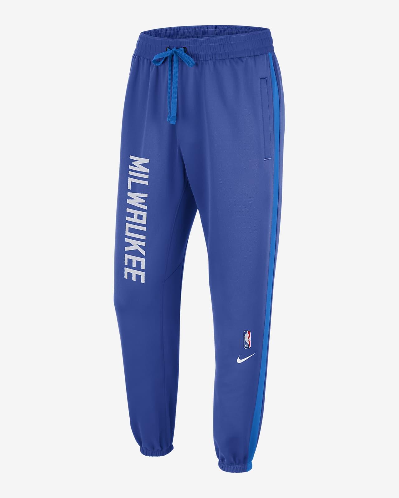 Pantalon Nike Therma Flex NBA Milwaukee Bucks Showtime City Edition pour Homme
