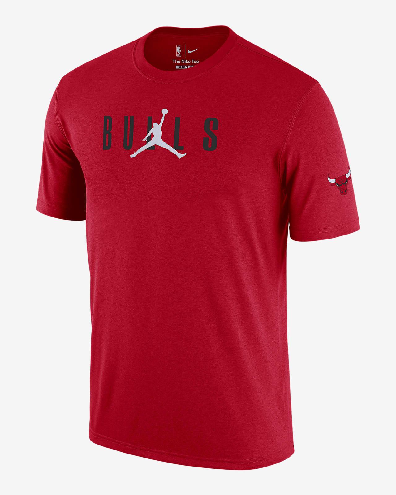 T-shirt męski Chicago Bulls Courtside Jordan NBA