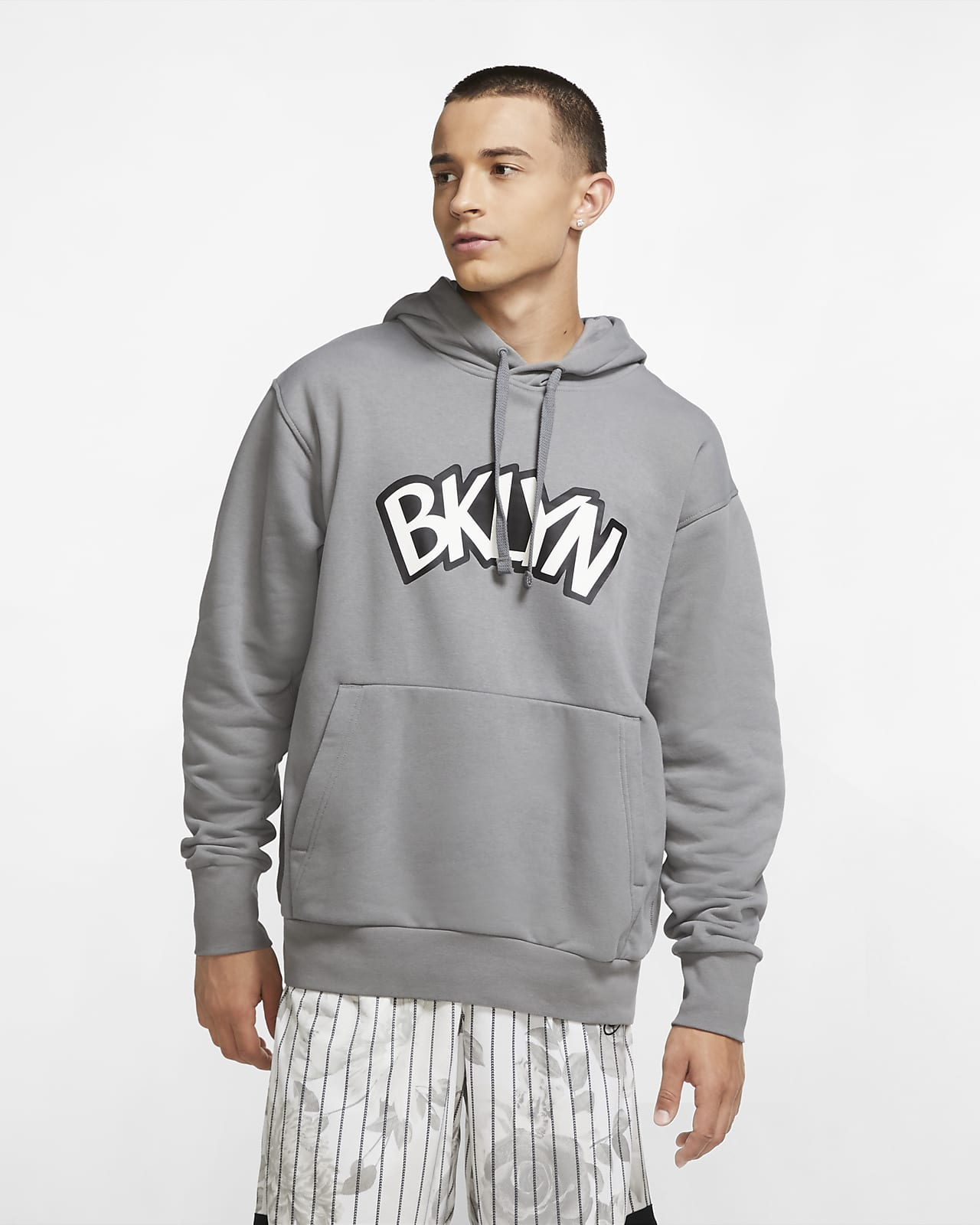 Hoodie NBA Jordan Brooklyn Nets Statement Edition para homem