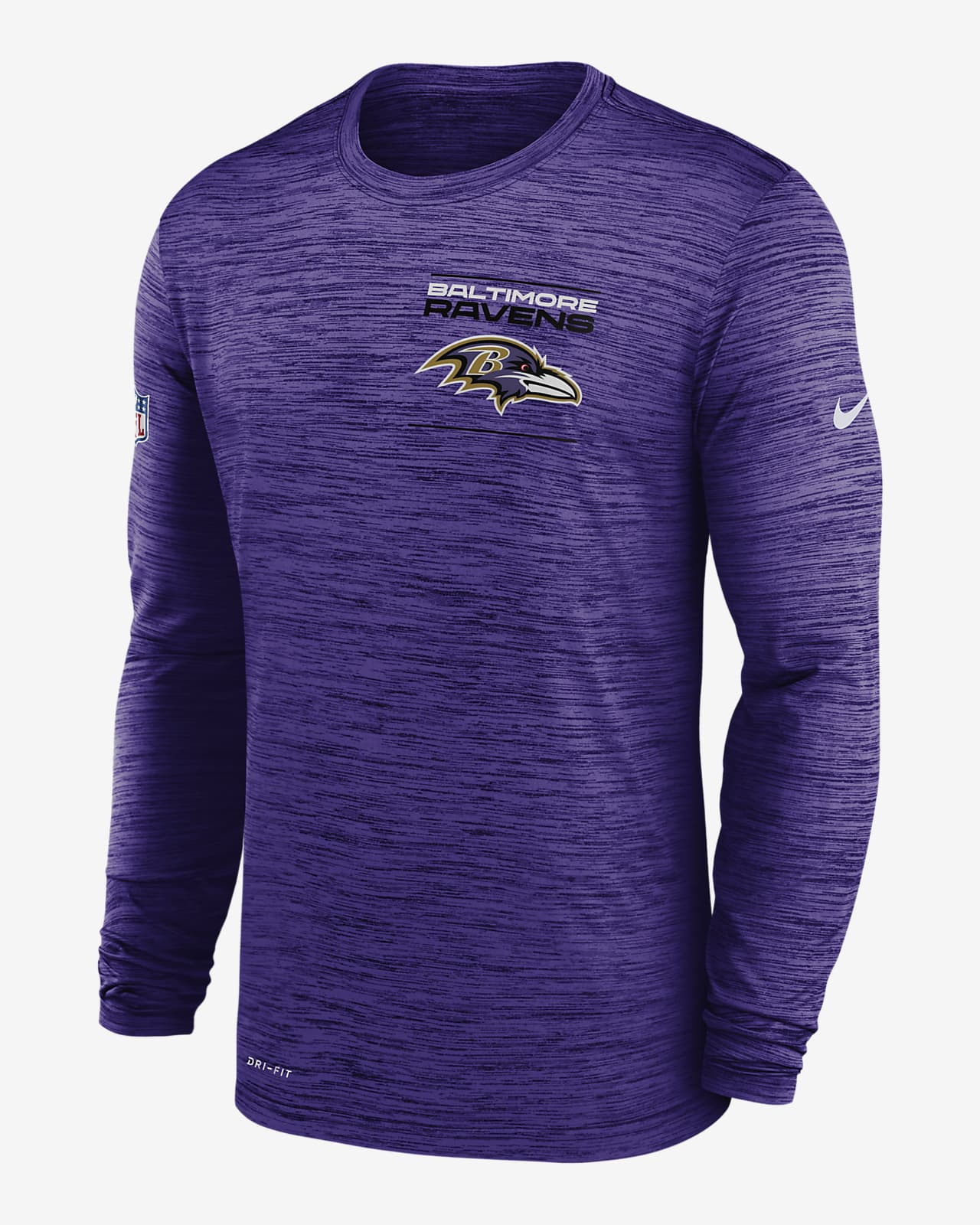 Nike Dri-FIT Sideline Velocity Legend (NFL Baltimore Ravens) Men's Long-Sleeve T-Shirt