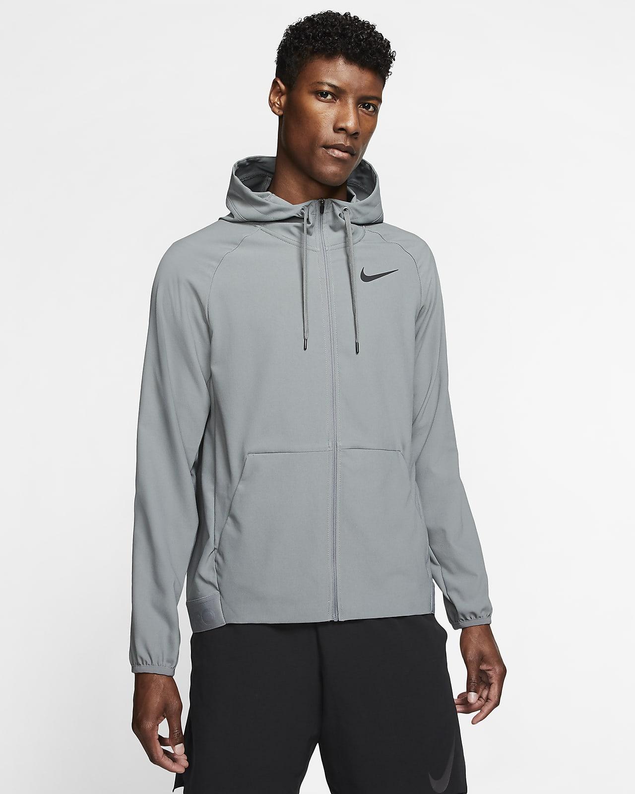Chamarra de entrenamiento con cierre completo para hombre Nike Flex