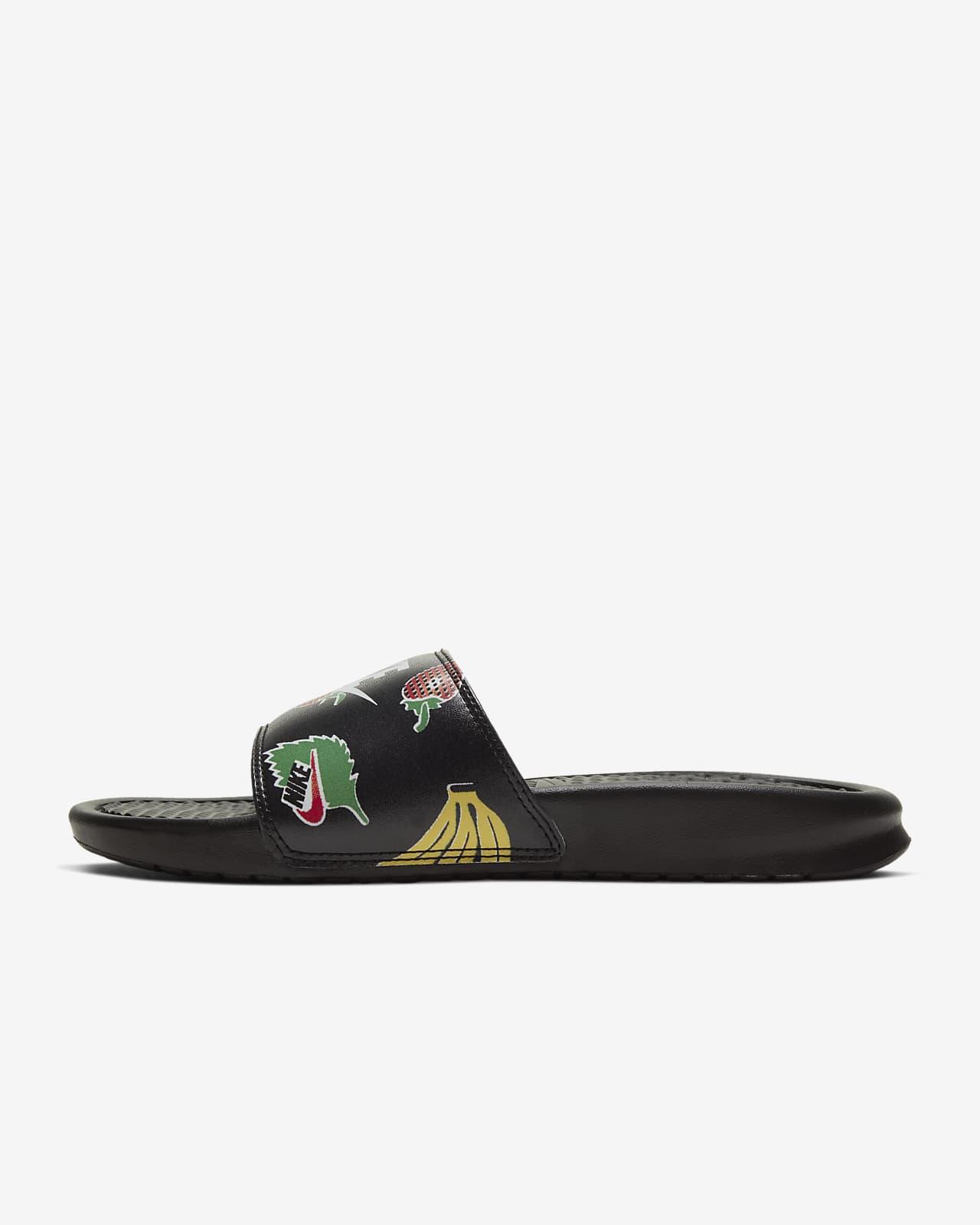nike benassi women's sandal