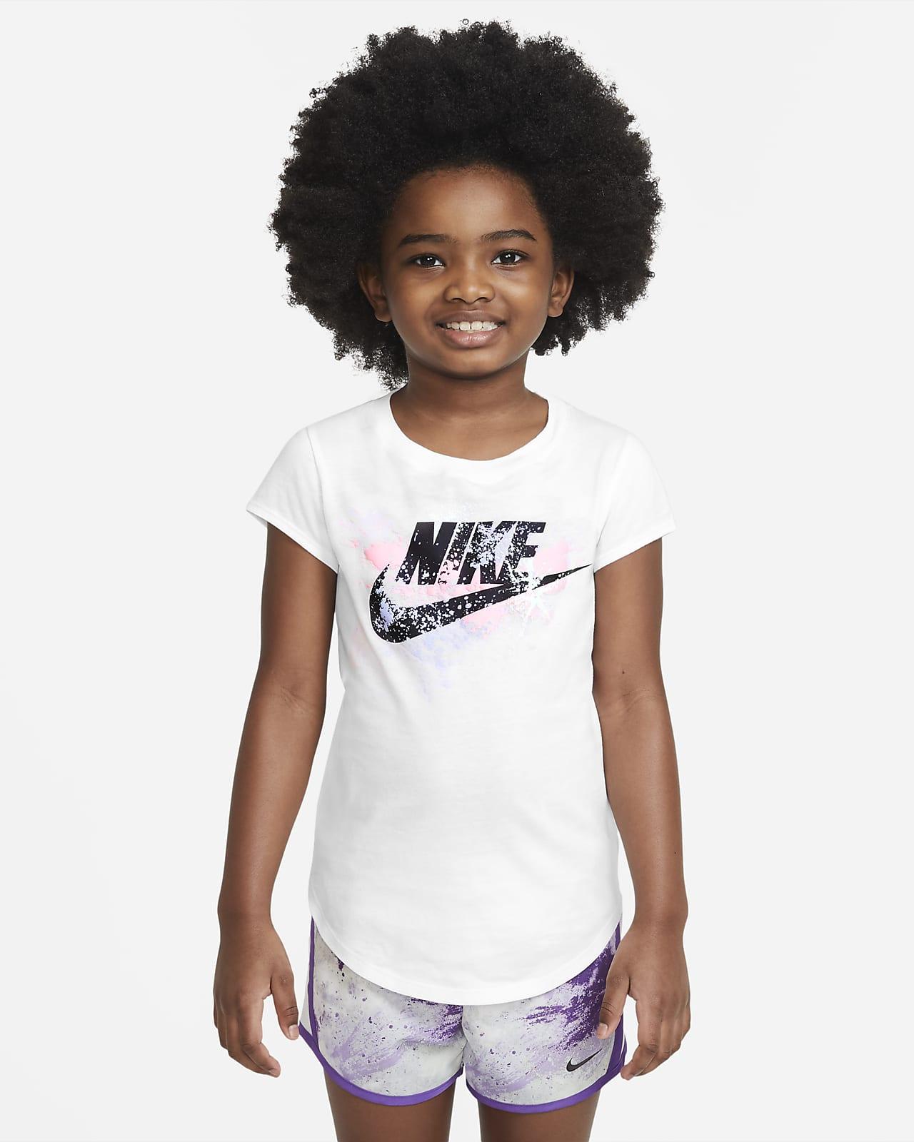 Playera para niños talla pequeña Nike