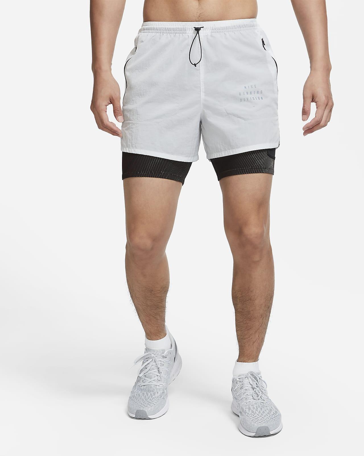 Nike Run Division 3-in-1 hardloopshorts voor heren