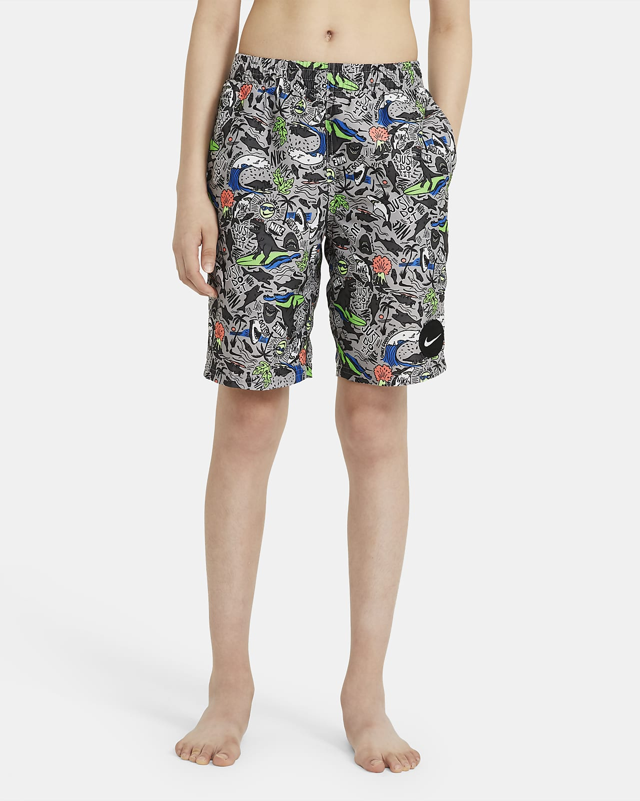 "Nike Big Kids' (Boys') 8"" Swim Trunks"