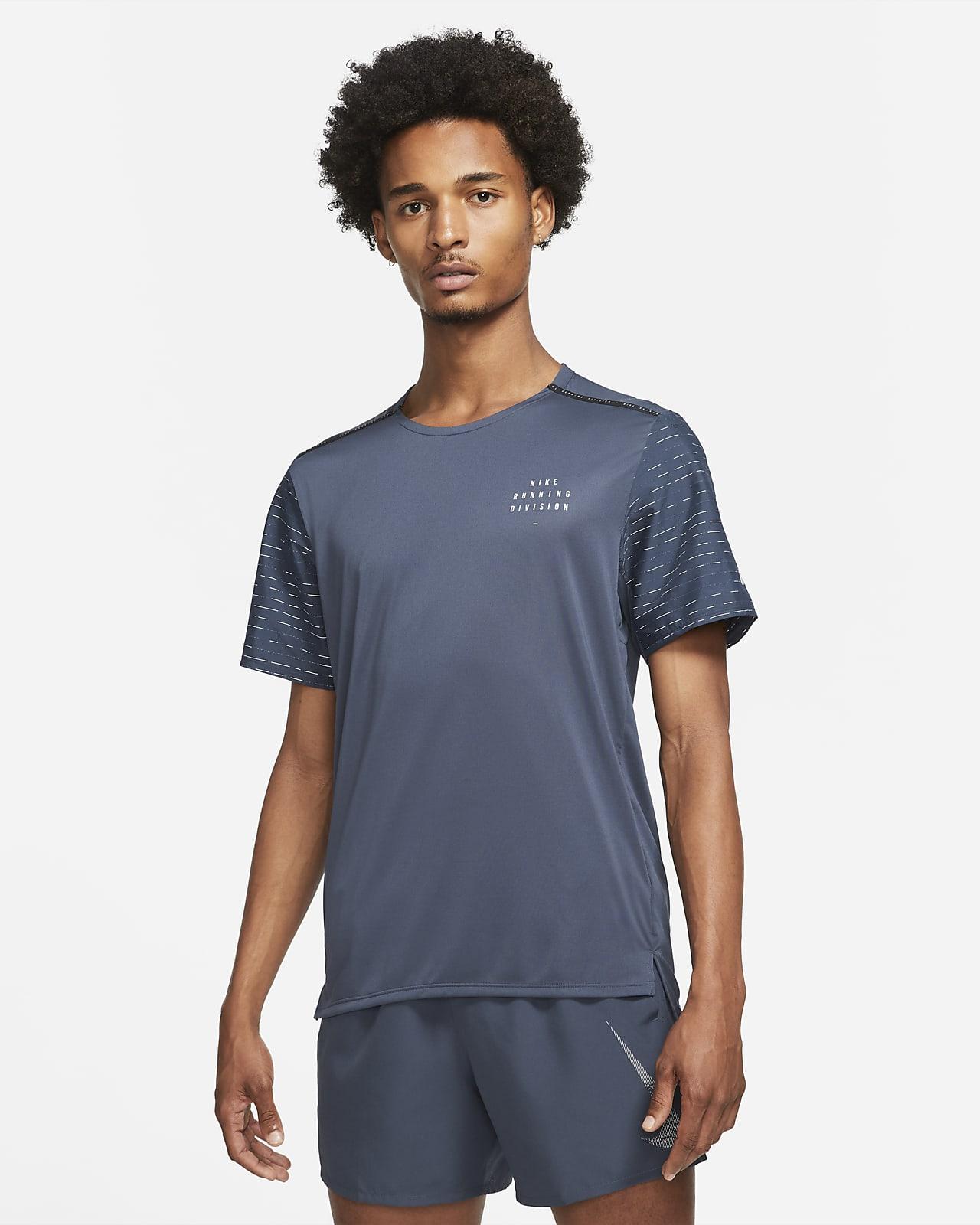 Haut de running à manches courtes Nike Dri-FIT Rise 365 Run Division pour Homme