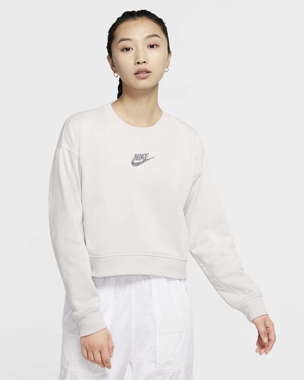 Nike Sportswear 女款貼身圓領上衣
