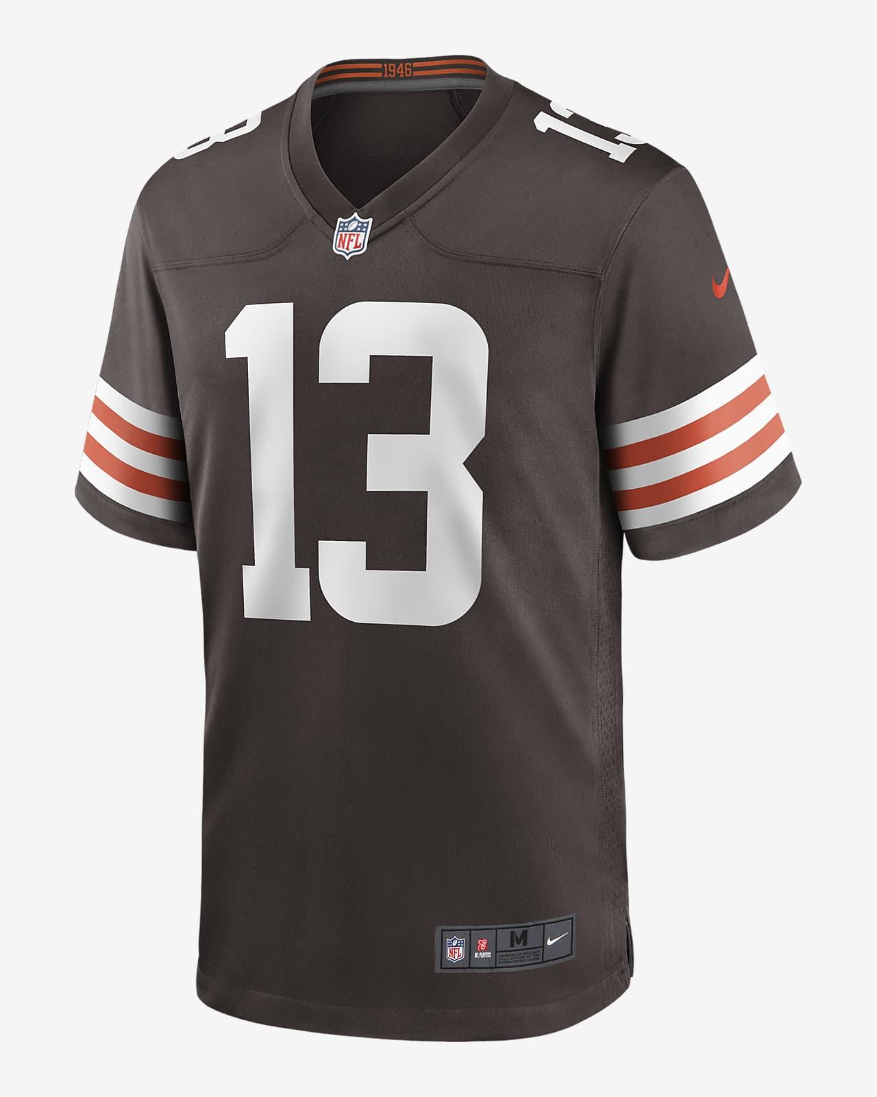 NFL Cleveland Browns (Odell Beckham) Men's Game Football Jersey
