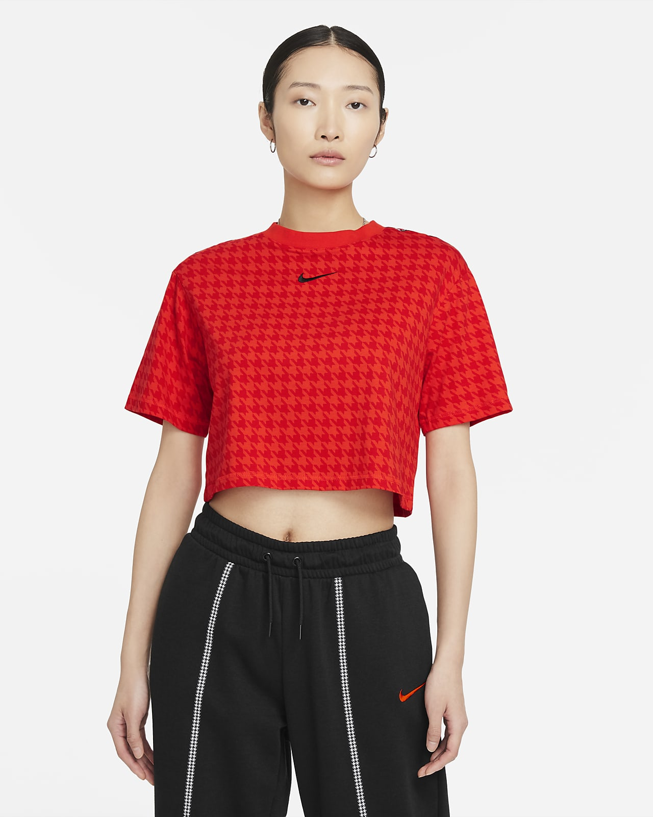 Nike Sportswear Icon Clash Oversized 女子短款上衣