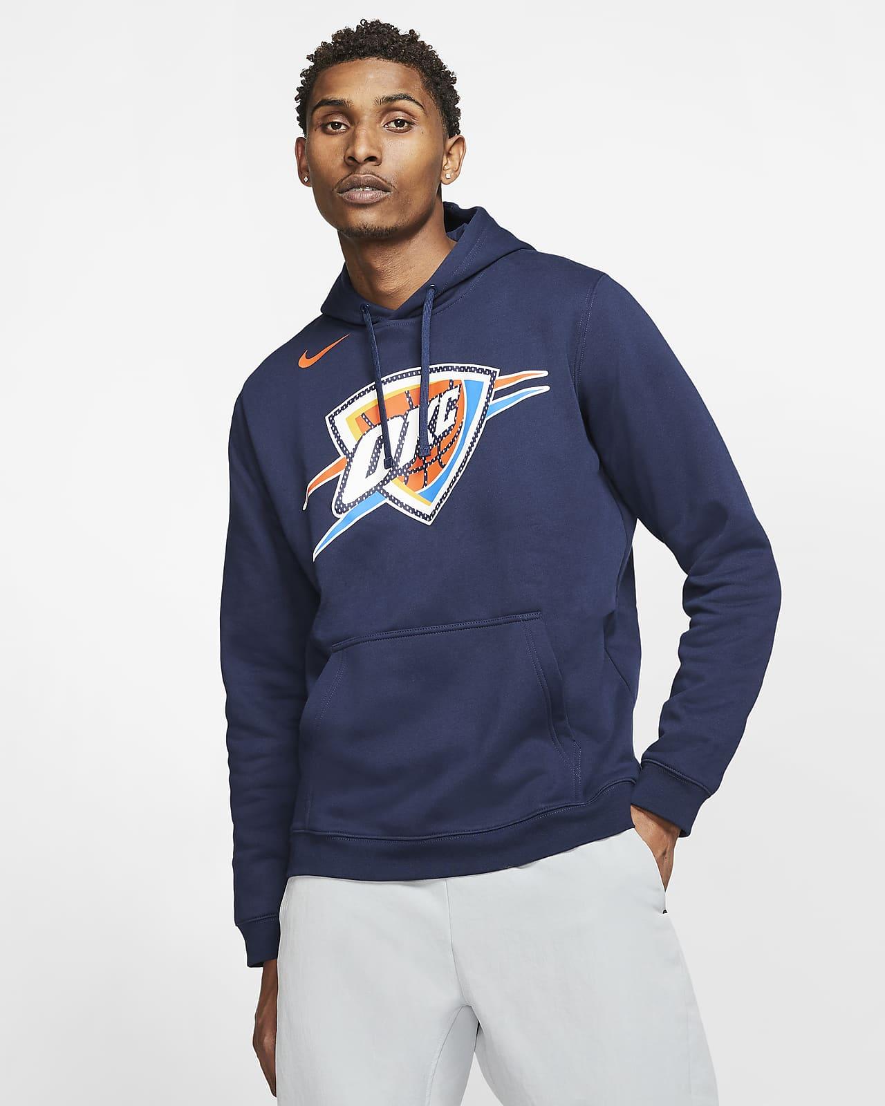 Oklahoma City Thunder Logo Men's Nike NBA Hoodie