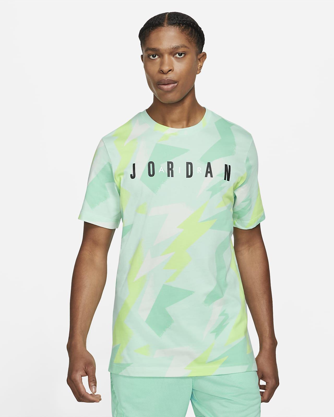 Playera estampada de manga corta para hombre Jordan Jumpman Air