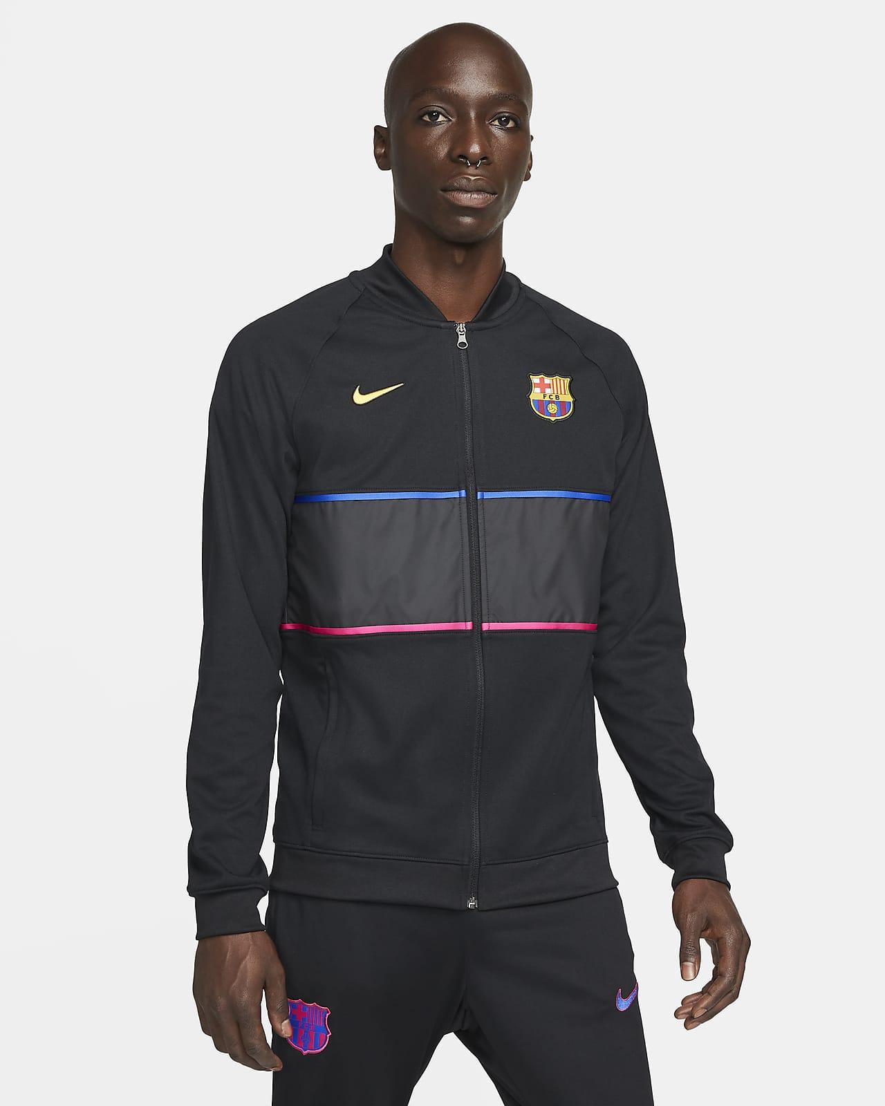 Veste de football à zip FC Barcelona pour Homme